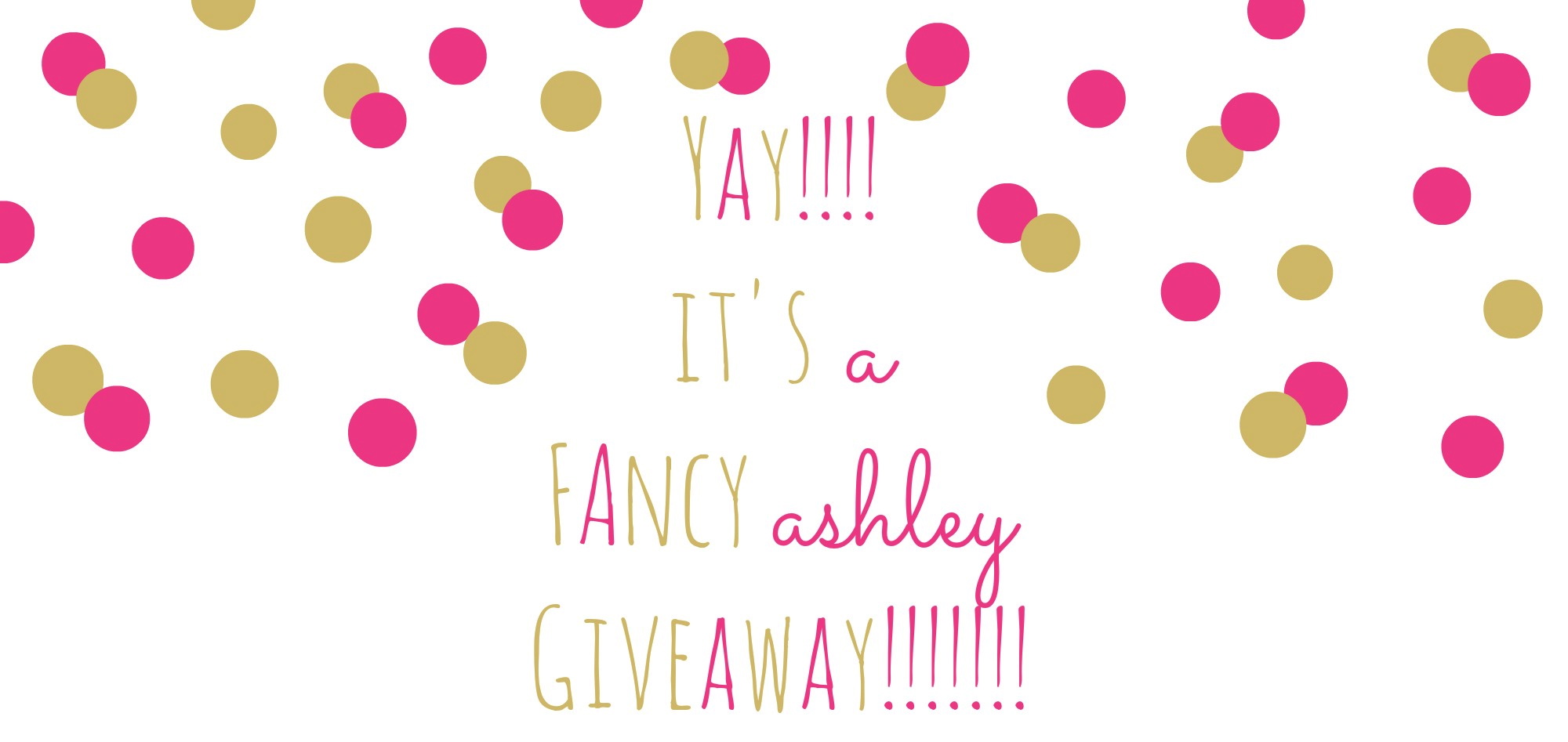 Fancy Ashley Giveaway Header
