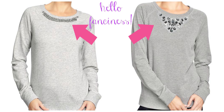 fancy sweatshirts